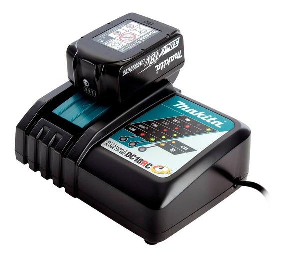 Cargador Li-ion & Ni-mh Makita Dc18rc 240 W Para Batería