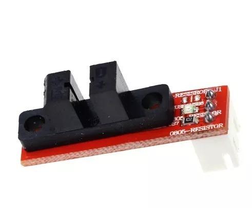 Kit De 4 Fim De Curso Óptico Impressora 3d Endstop Ramps