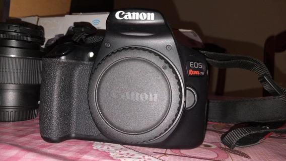 Câmera T6 +lente 18-55 +24mm