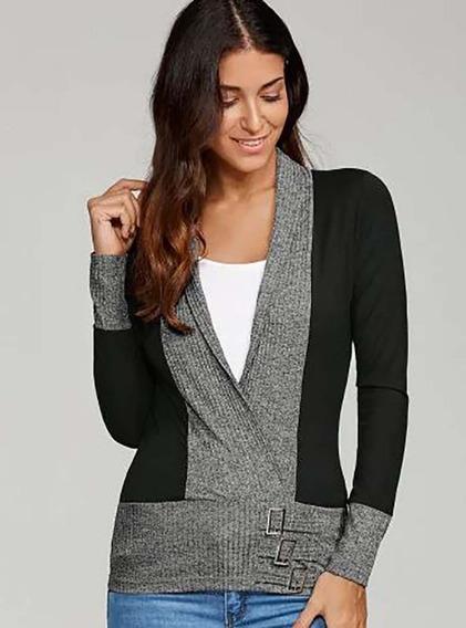 Vestido Feminino Blusa Blusão Lycra Importado 481