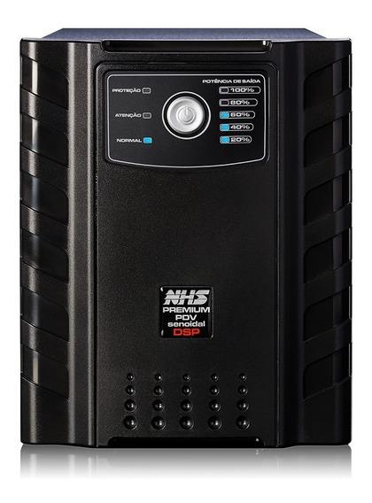 Nobreak Nhs 2000va Senoidal 2kva 6 Baterias De 7ah Bivolt