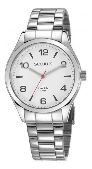 Relógio Seculus Long Life Masculino 28974g0svna2