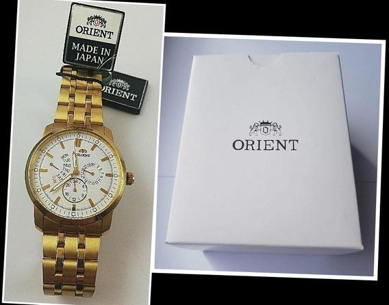 Relógio Cronógrafo Orient Suu07001w0 + Caixa Original