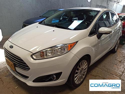 Ford Fiesta Sedan Titanium Aut 2015 Ubn545