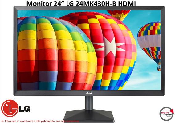 Monitor 24 Lg 24mk430h-b Ips Hdmi Amd Freesync