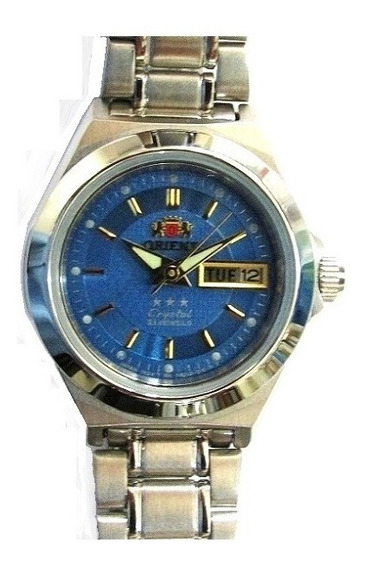 Relógio Orient Automático Feminino Aço Fnq04004j9 Promoção
