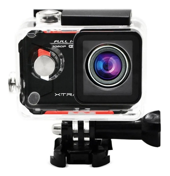 Camera De Acao Xtrax Evo 12mp Mini Usb Fhd Wifi