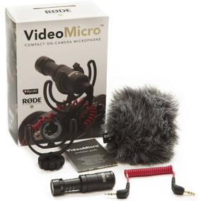 Microfone Rode Vídeomicro
