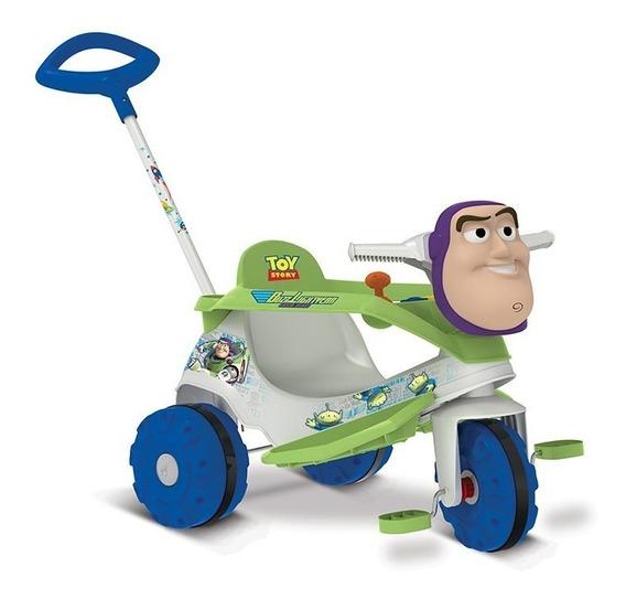 Triciclo De Passeio E Pedal - Velobaby - Disney - Toy Story