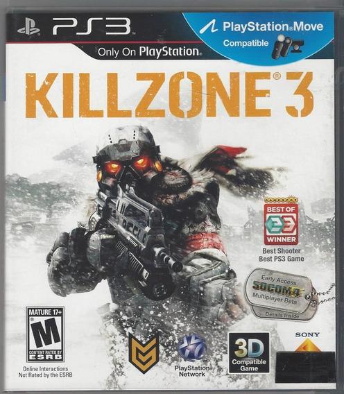 Kill Zone 3 Ps3 Seminovo Imperdivel