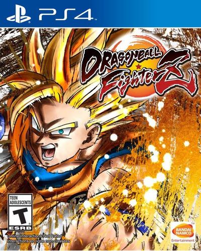 Dragon Ball Fighter Z - Ps4 Fisico Nuevo & Sellado