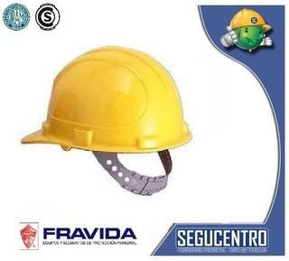 Casco De Trabajo Obra Con Arnes Iram Fravida Promo!!