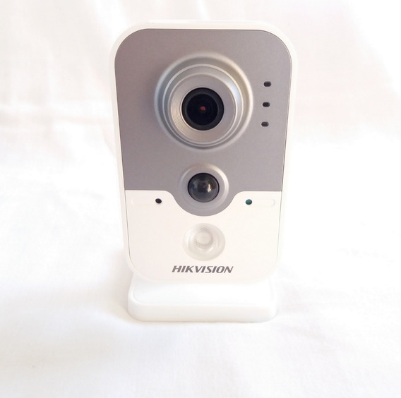 Câmera Ip Cube Pro Wifi Hikvision 1mp Hikhome Ds-2cd2410f-iw