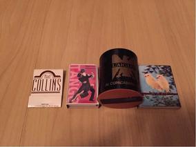 Coleção De Caixas De Fósforos - 4 Unidades
