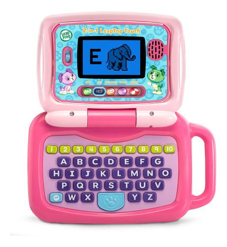 Computadora Portátil 2 En 1 Interactiva Para Niños