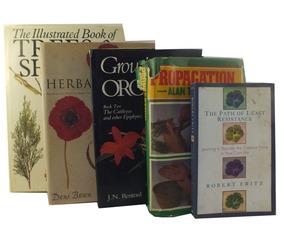 Lote De Livros Botânica Tress & Shrubs E Outros B6000