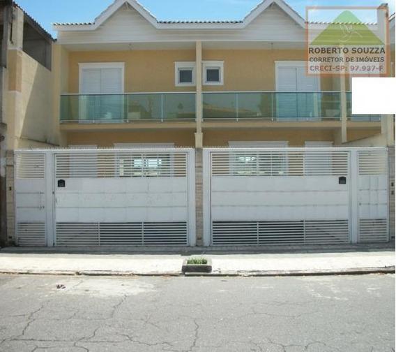 Sobrado Geminado Para Venda Em São Paulo, Itaim Paulista, 3 Dormitórios, 1 Suíte, 2 Banheiros, 2 Vagas - 00369