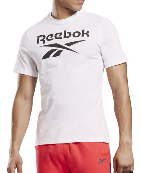 Remera Reebok Training Stacked Hombre Bl