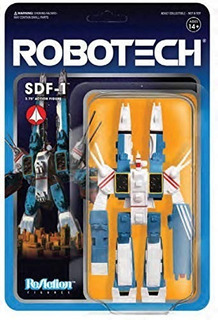 Super7 Robotech Sdf-1 10 Cm Reaction