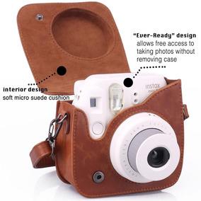 Case Para Câmera Instax Mini 8 E 9+varal De Brinde