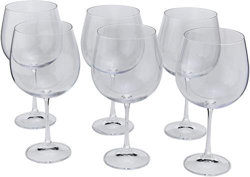 Taça Gin Tônica Drink Em Cristal Titanium Jogo 6pcs Bohemia