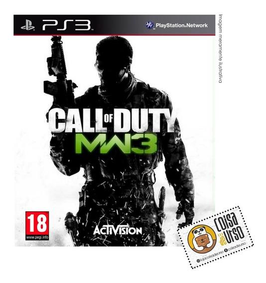 Call Of Duty Mw3 Ps3 (mídia Física)
