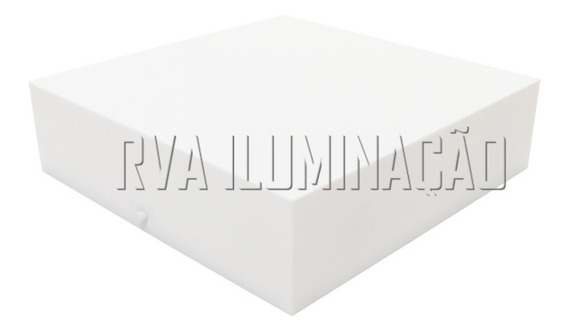 Plafon De Sobrepor Acrilico 30x30 Luminaria