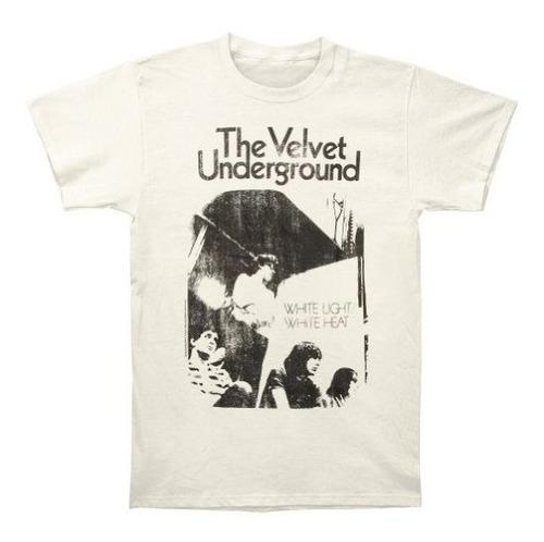 Camiseta Entallada Vintage De Terciopelo Underground Hombres