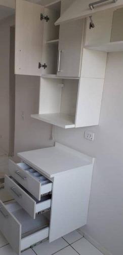 Apartamento Com 2 Dormitórios, 48 M² - Venda Por R$ 180.000,00 Ou Aluguel Por R$ 820,00/mês - Aparecidinha - Sorocaba/sp - Ap5012