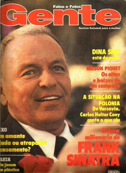 Revista Fatos E Fotos 1044/81 - Frank Sinatra/dina Sfat/piqu