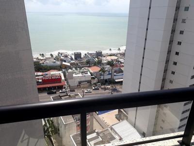 Flat Em Ponta Negra, Natal/rn De 52m² 2 Quartos À Venda Por R$ 279.000,00 - Fl224445