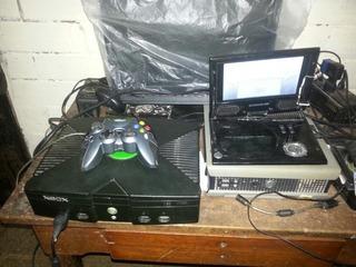Xbox Clasico Con Hack 20 Discos