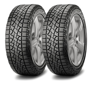 Kit X2 Neumaticos Pirelli 245/70 R16 Scorpion Atr / Colocacion