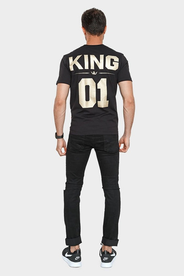 Playera Caballero Mc/ King 01