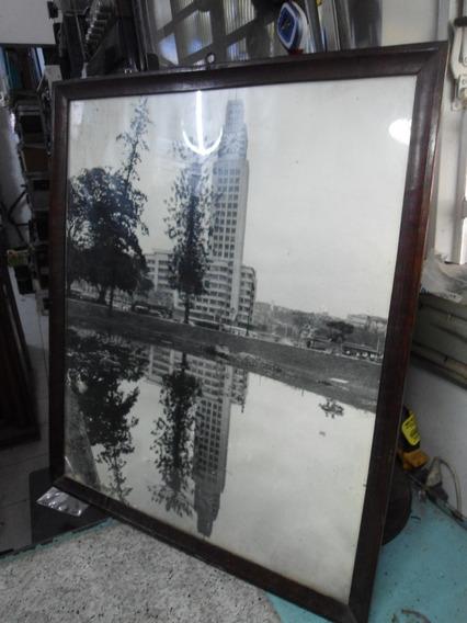 Quadro Torre Do Relógio Em São Paulo - Anos 50