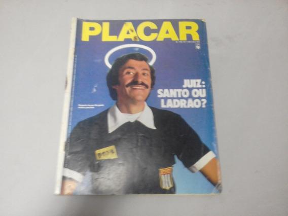 Revista Placar Nº 756 - Novembro De 1984 - Juiz Morgado