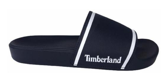 Chinelo Timberland Slide On Basic Nº 41 Marinho Original
