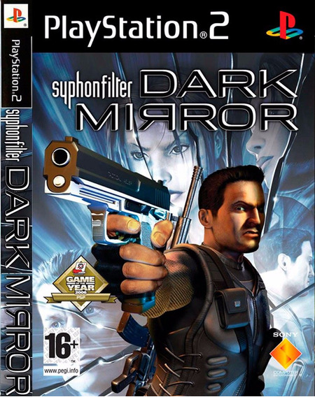 Jogo Ps2 Syphon Filter - Dark Mirror - Original Lacrado