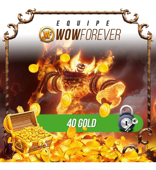 40g- Gold Wow Classic Thalnos Horda