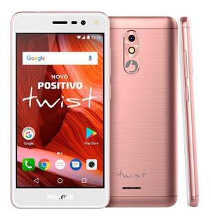 Smartphone Twist S511 Positivo Rosa Novo