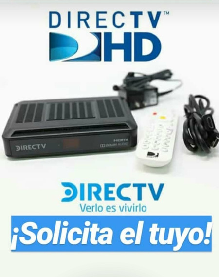 Kit Decodificador Hd Directv + Usuario A Su Nombre