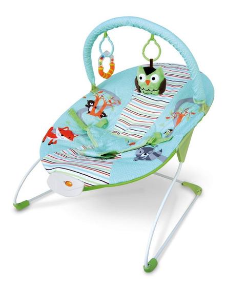 Silla Bebe Mega Baby Con Música Vibración Barra De Juguetes