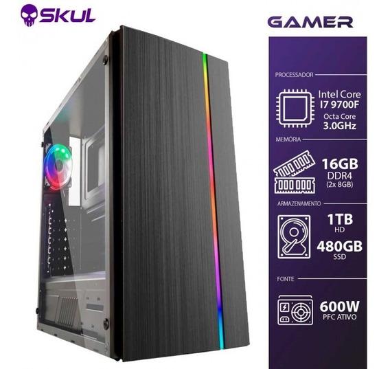 Computador Gamer 7000 - I7 9700f 3.0ghz 9ª Ger. Mem. 16gb