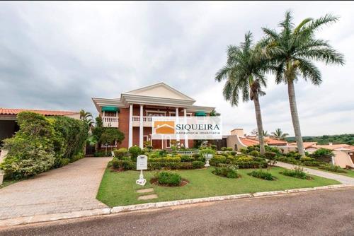 Casa Residencial À Venda, Parque Reserva Fazenda Imperial, Sorocaba. - Ca0797
