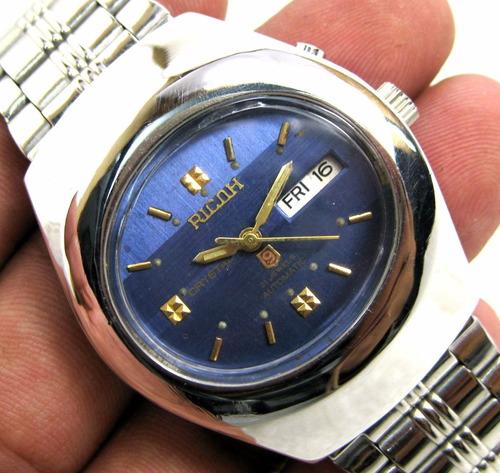 Relógio Ricoh, Clássico, Vintage, Heritage, Automático.