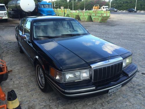 Imagem 1 de 14 de Lincoln Town Car 1991 Carro De Consulado