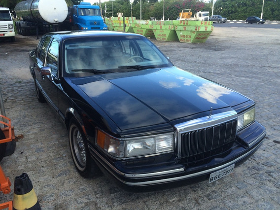 Lincoln Town Car 1991 Carro De Consulado