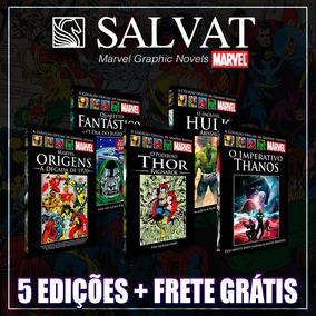Pacote Marvel - 5 Salvat Expansão Classicos Romanos