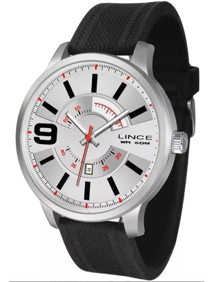 Relógio Masculino Lince Casual Mrph056s B2px Prateado