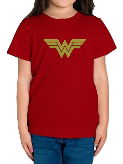 Playera Wonder Woman Mujer Maravilla Niña Envio Gratis